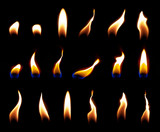 candle flame overlay candle flame light