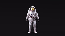 Astronaut With Gold Visor And ...