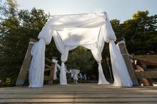 Outdoor Wedding Autumn Gazebo