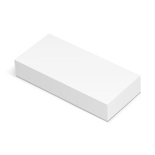 Blank Rectangular Box Mockup I...