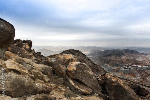 Mountain in Makkah Saudi Arabia