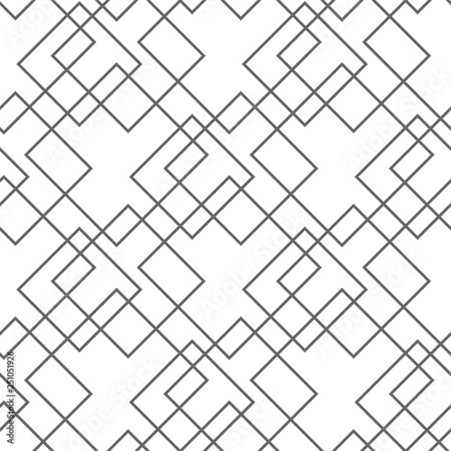 Fotomural Abstract seamless pattern, minimal geometric background
