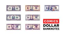 Dollar Money Comics Style Pape...