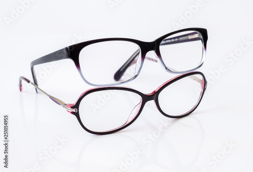 Cuadros en Lienzo Stylish glasses for women with monofocal lenses