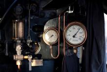 Pressure Gauge In Engine Room ...