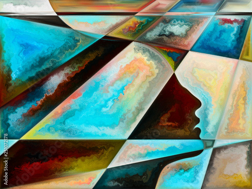Illusion of Living Canvas