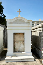 Open Family Crypt In New Orleans