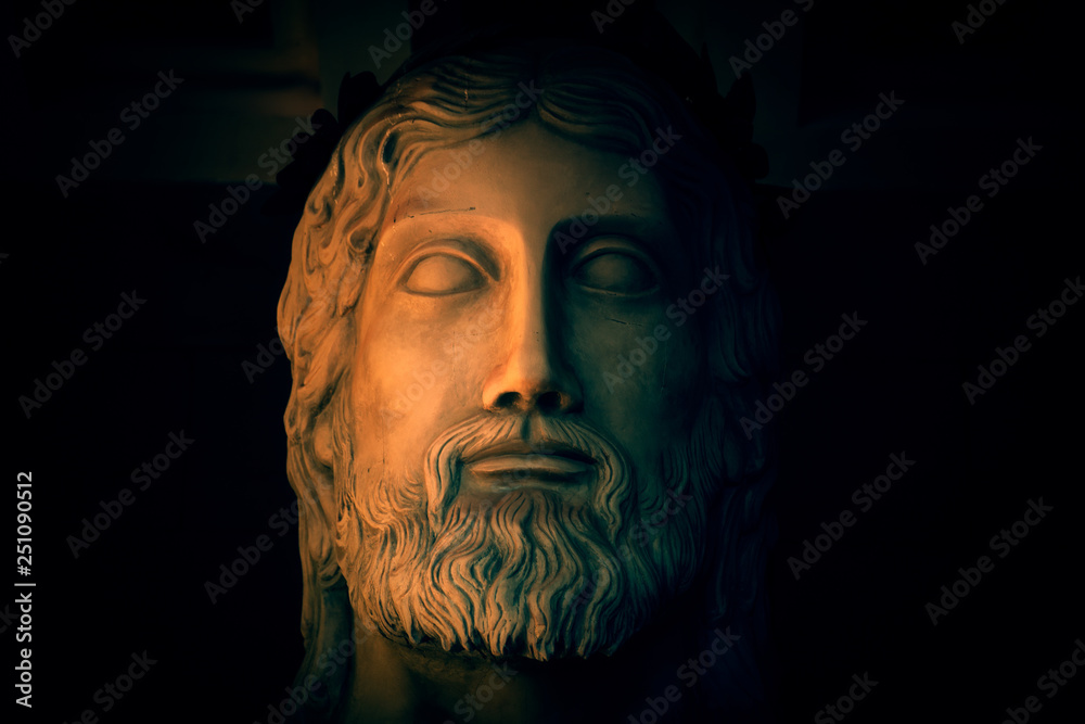 Fototapety, obrazy: Ancient god Zeus worshipped by both Roman and Greek