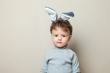A Funny, Grumpy Little Boy Dre...