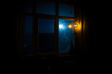 Night Scene Of Stars Seen Thro...