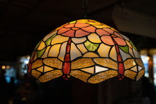 Beautiful Stained Glass Lamp Cover