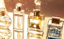 Aromatic Perfume Bottles On Ba...