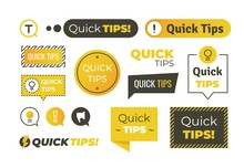 Quick Tips Shapes. Helpful Tri...
