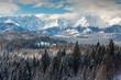 Tatra Mountains view