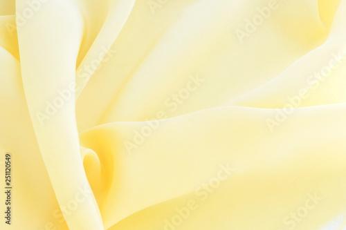 Pinturas sobre lienzo  silk fabric background texture pastel  yellow color top view.