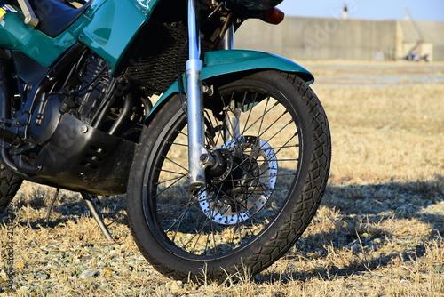 バイクのタイヤ