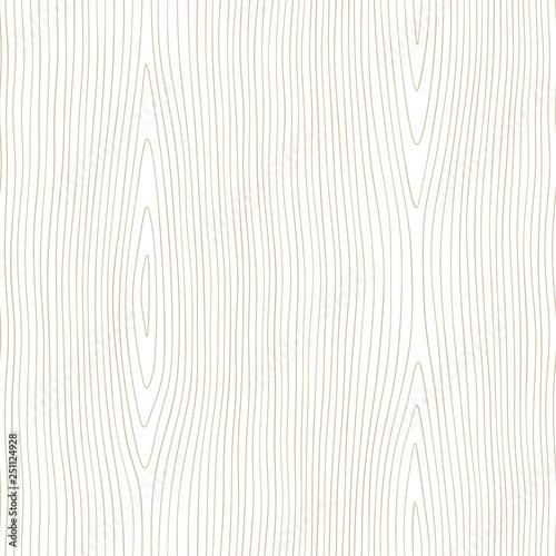 fototapeta na lodówkę Seamless wooden pattern. Wood grain texture. Dense lines. Abstract background. Vector illustration