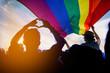 canvas print picture - LGBT