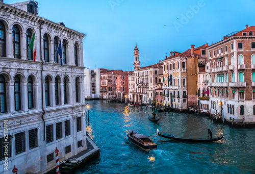 Keuken foto achterwand Venetie Canal Grande, Venice, capital of the Veneto region, a UNESCO World Heritage Site, northeastern Italy