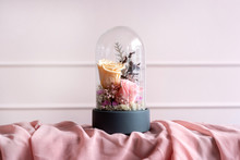 Long-lasting Roses In A Glass Dome