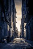 Fototapeta Uliczki - Alley in Seattle