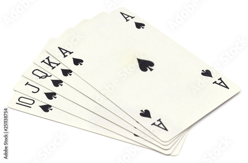 Photo  Ace of spade