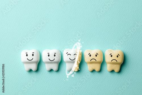 Stampa su Tela Teeth whitening
