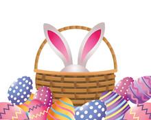 Easter Eggs Cartoon