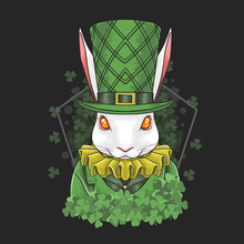 Rabbit Easter ST. Patricks Day