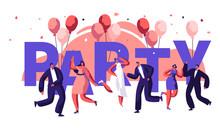 Dance Party Motivation Typogra...