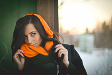 Fashion Portrait Of Young Musl...