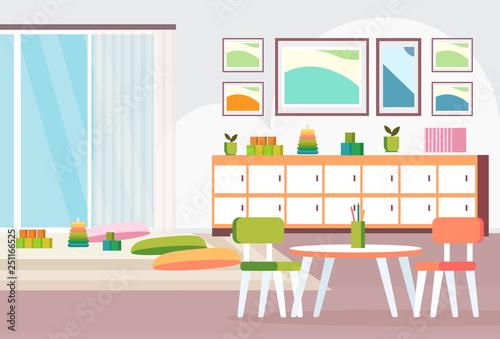 Terrific Preschool Modern Kindergarten Children Classroom With Desk Inzonedesignstudio Interior Chair Design Inzonedesignstudiocom