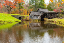Historic Mabry Mill In Virginia