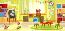 Kids Playroom. Kindergarten Ch...