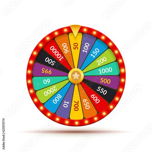 Fotografia Wheel fortune casino game