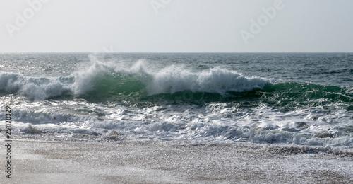 Fotografie, Obraz  La vague de l'océan Atlantique