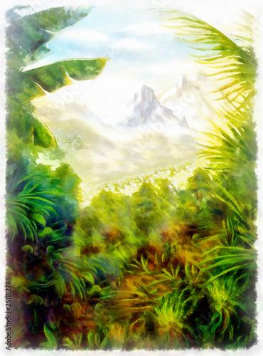 panoramiczny-widok-na-tropikalny-krajobraz