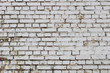 Part of dirty brickwork with drips background texture