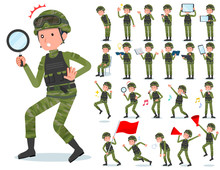Flat Type Military Wear Man_Ac...