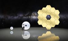 Rendu Graphique De Miroirs De Téléscopes Spatiaux