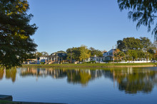 Typical Houses In The Bayou St...