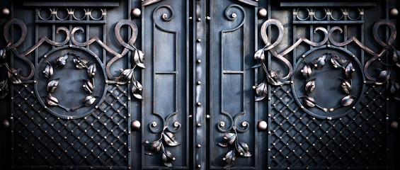 big large metal gates