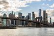 NYC Skyline from DUMBO in Brooklyn, New York, USA