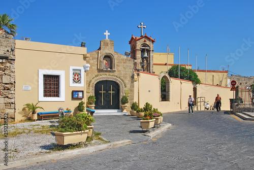 Tuinposter Mexico Eastern Orthodox Church