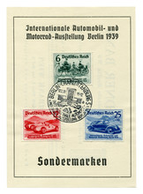 German Historical Stamps: Shee...