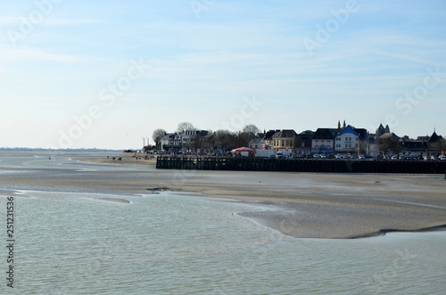 Photo sur Toile Bleu clair le Crotoy baie de somme