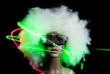 Vintage Mannequin With Led Sun...