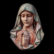 Antique Statue Of Virgin Mary ...