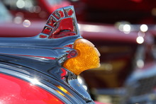 Old Indian Hood Ornament