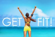 Get FIT Motivational Message W...